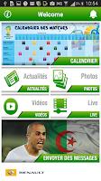 Screenshot of Algérie au Brésil