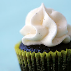 Go-To Chocolate Cupcakes with Vanilla Bean Buttercream