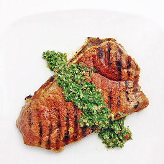 Spice Rubbed Steak with Chimmichurri