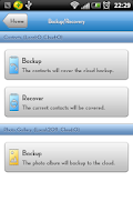 Screenshot of Huawei Cloud Storage