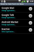 Screenshot of WooDFox Clock Panel Lite