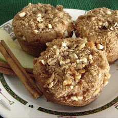 Buttermilk Apple Muffins