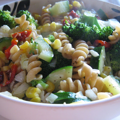 Fresh Vegetable Pasta Toss