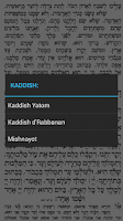 Screenshot of Siddur Tehillat Hashem