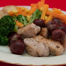 Pork Medallions With Cherry Sauce