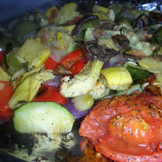 Weight Watchers Roasted Vegetables - 0 Points!