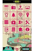 Screenshot of 近未来 for[+]HOMEきせかえテーマ