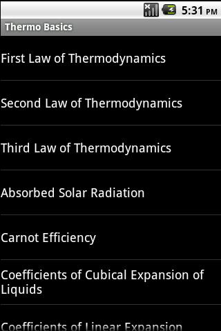 Thermo Basics