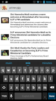 Screenshot of Narendra Modi Speeches-Videos