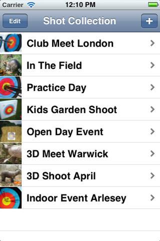 Archery Shot Recorder