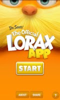 Screenshot of The Official Lorax App