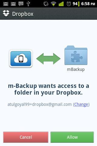 mBackup beta
