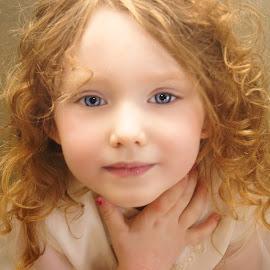 A Portrait in Study by Cheryl Korotky - Babies & Children Child Portraits