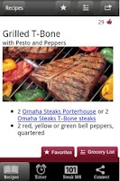 Screenshot of Omaha Steaks Steak Time