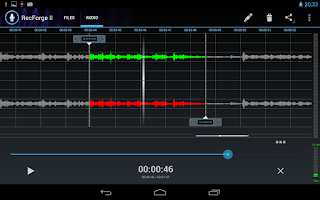 Screenshot of RecForge II - Audio Recorder