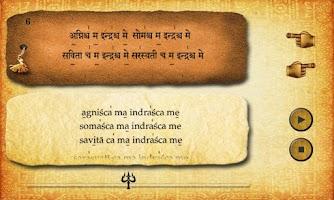 Screenshot of Chamakam (Rudram)