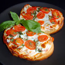 Tomato and Two-Cheese Bruschetta