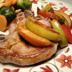 Cinnamon-Apple Pork Chops Recipe