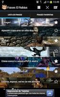Screenshot of Frases El Rubius