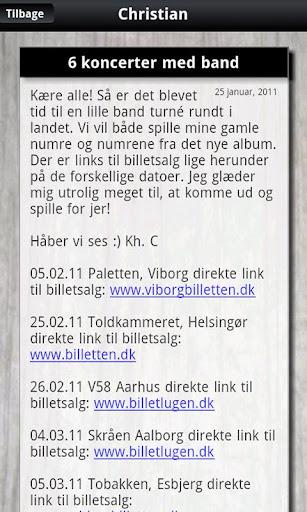 【免費娛樂App】Christian Brøns fan app-APP點子