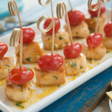 Chicken Scampi Bites