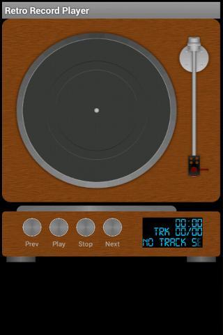 Retro Record Player Vinyl