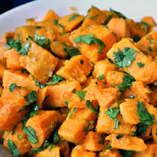 Sweet Potatoes with Lime-Cilantro Dressing