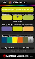 Screenshot of Montana Colors App