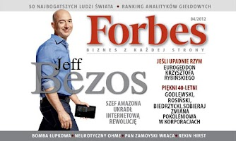 Screenshot of Forbes Polska