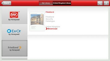 Screenshot of Honeywell ED&S Library