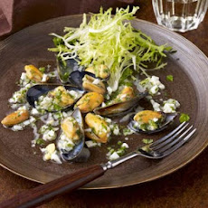 Warm Mussels With Ravigote Dressing