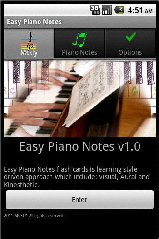 Easy Piano Notes