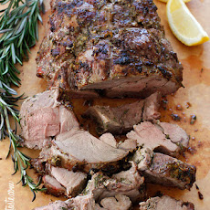 Roasted Boneless Leg of Lamb