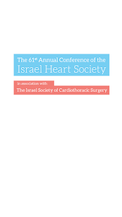 Israel Heart Society - screenshot