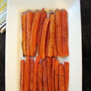 Spicy Paprika Roasted Carrots
