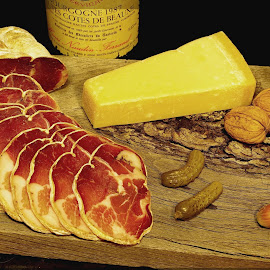 brunch ... by Joseph Muller - Food & Drink Meats & Cheeses ( wine, meat, cheese, brunch, , Food & Beverage, meal, Eat & Drink )