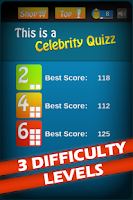 Screenshot of This is a Celebrity Quizz