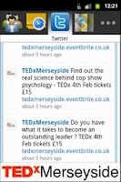 Screenshot of TEDxMerseyside