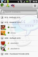 Screenshot of Agile Messenger 1.4