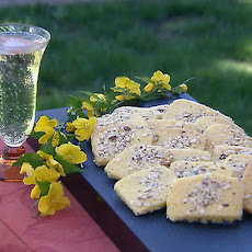 Corn Flour Lemon Cookies