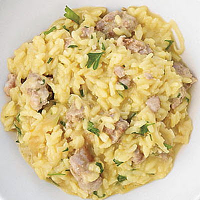 Fennel and Sausage Risotto