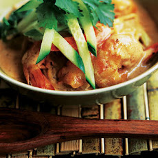 Easy Prawn Laksa Soup