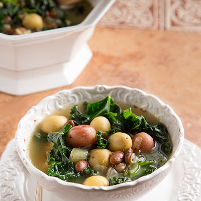 Italian Potato, Bean, and Kale Soup