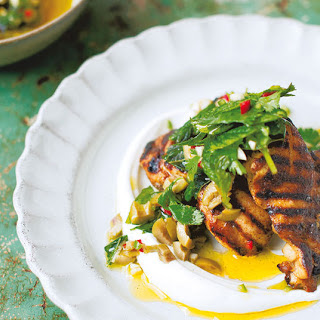 Turkish-spiced Chicken Thighs With Coriander Relish