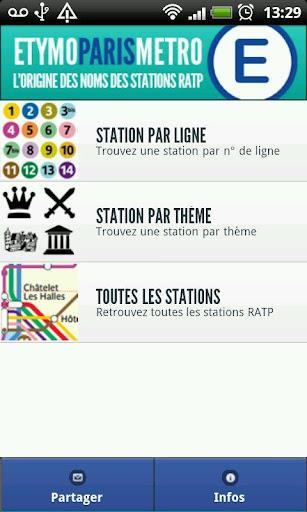巴黎地鐵:詞源 Lite