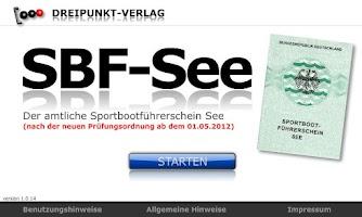 Screenshot of SBF-See