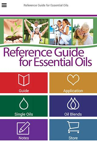 Ref. Guide for Essential Oils - screenshot