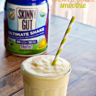 SWEET VANILLA PINEAPPLE ORANGE SMOOTHIE