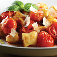 Potato Gnocchi With Cherry Tomato Sauce