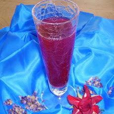 Hibiscus-Rose Water Beverage (No Alcohol)